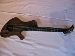 Very First Moby Dick Guitar by Alexander Claas from 2010 frontside